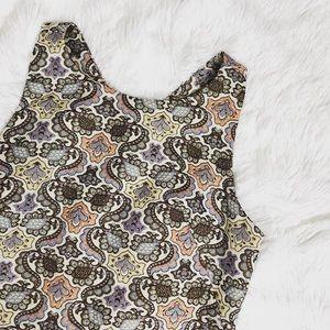 Zara sleeveless dress size large